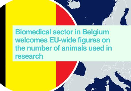 Belgium - 2018 EU animal use in research statistics