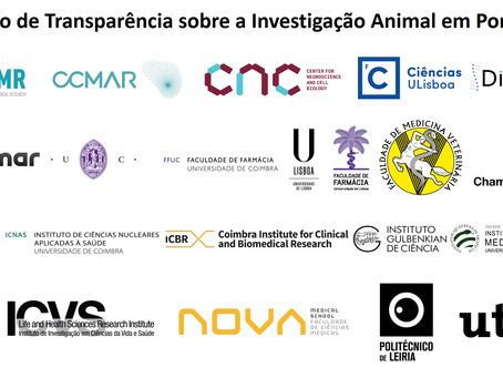 Transparency Agreement on animal research in Portugal