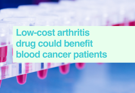 Repurposed drug for blood cancer patients
