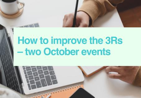October 3Rs webinars