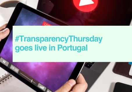 Live #TransparencyThursday