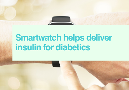 Smartwatch delivers insulin