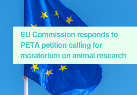 EU Commission supports animal research