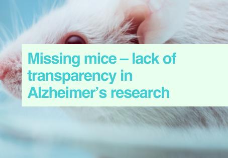 Missing mice in media coverage