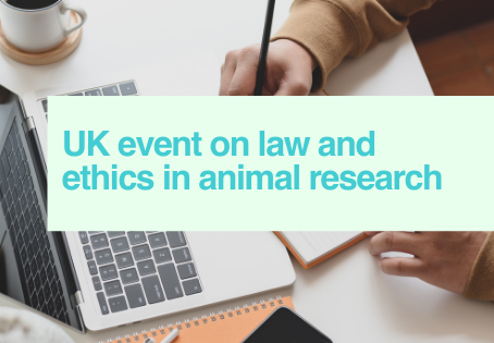 UK animal research ethics event