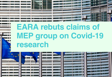 EARA rebuts MEPs on Covid-19