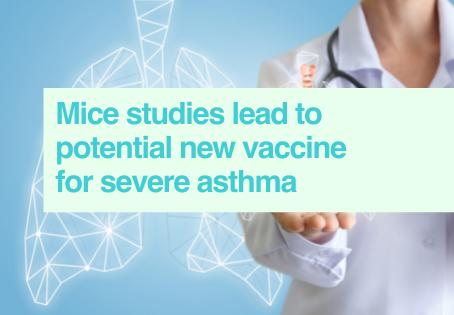 Asthma vaccine in mice