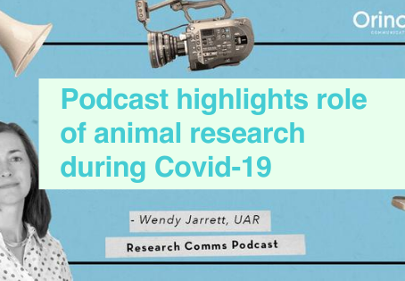 Podcast on animal research