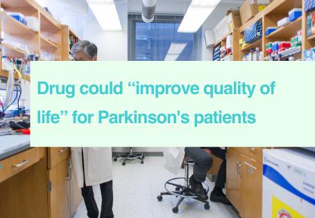 Parkinson's dyskinesia drug