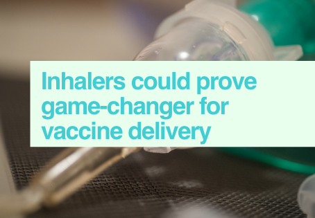 Inhaled vaccines