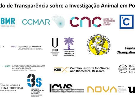 Acordo de Transparência sobre investigação animal em Portugal