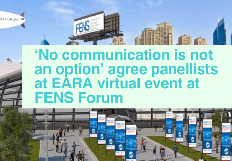 EARA communications event at FENS