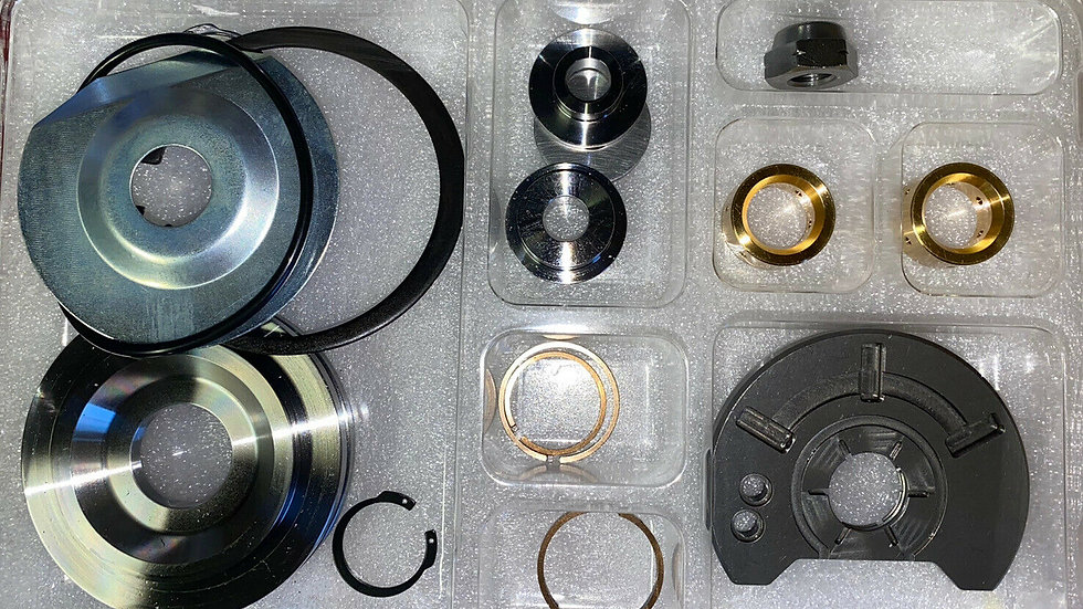 BorgWarner S400 Turbo Upgraded Kit 360 Thrust Bearing Step Gap Seals Severe Duty