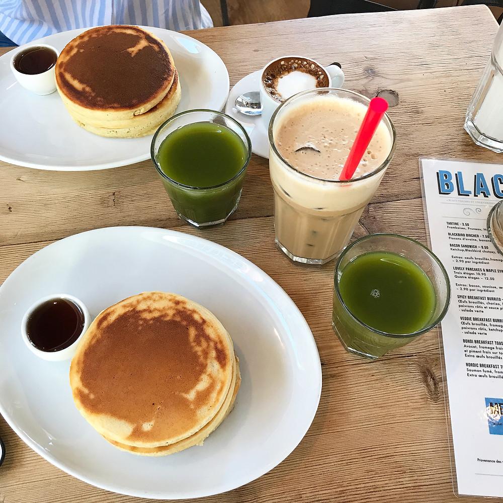 Pancakes Blackbird Lausanne