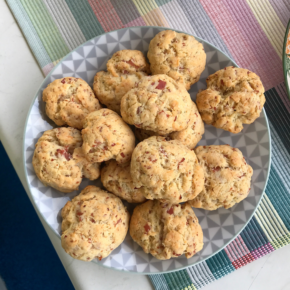 Cookies jambon gruyère Lulufood