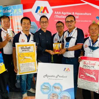 บริษัท เอเอเอ อกริเทค แอนด์ อควาคัจเจอร์ (ประเทศไทย) จำกัด ได้เข้าร่วมออกบู้ทในงานสัตว์น้ำไทย 2020