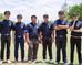 เชียร์. หนุ่มหนุ่มทีมจุฬา #Unversity Golf Championship 2016#Golf Chanel#VABILA Apparel