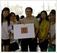 เงินบริจาคผ่านทางสภากาชาดไทย