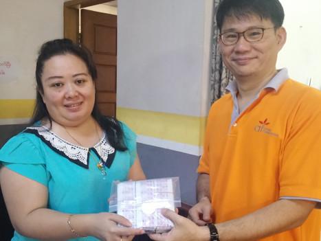 เอ.เอฟ.กรุ๊ป บริจาคAquatabsช่วยเหลือพม่าจากเหตุการณ์น้ำท่วม