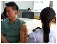 A.F.จัดให้พนักงานฉีดวัคซีนไข้หวัดใหญ่
