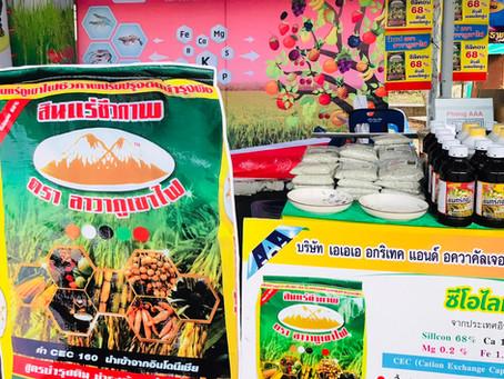 งานเกษตรที่ใหญ่ที่สุดในเขตไม้ผล ที่ศูนย์วิจัยพืชสวนจันทบุรี ( พลิ้ว ) 11-13 ธันวาคม 63