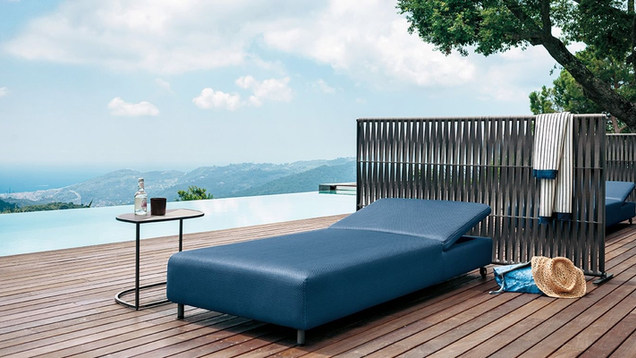 SUNLOUNGERS AND DAYBED