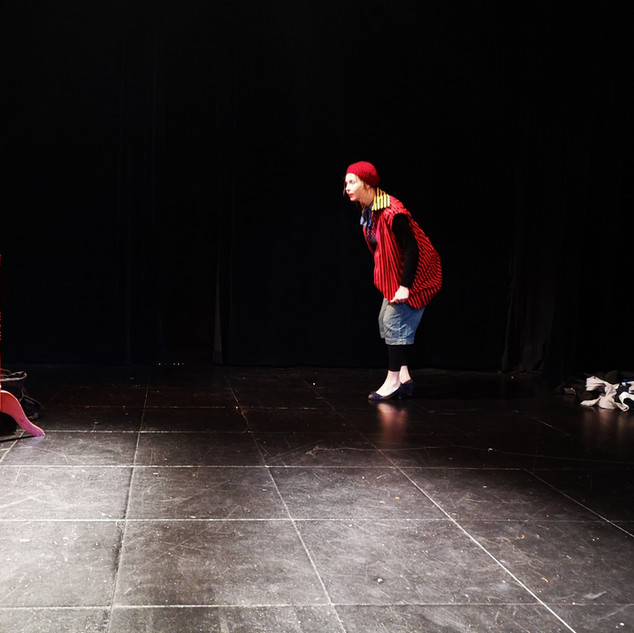 Stage clown
