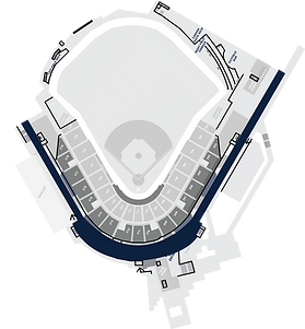 Stadium Layout with the Concourse highlighted