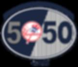 Yankees Tampa Foundation 50/50 Raffle Logo