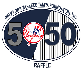Yankees Tampa Foundation 50/50 Raffle Logo