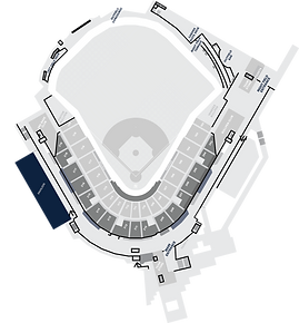 Stadium Layout with The Pavilion Highlighted