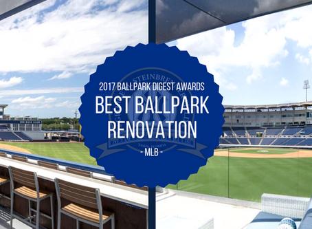 Best Ballpark Renovation by Ballpark Digest: 2017