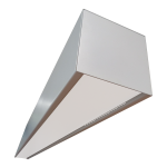 LUMINÁRIA 1,17cm - RETANGULAR