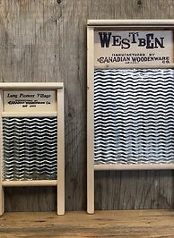Various Washboard Sizes