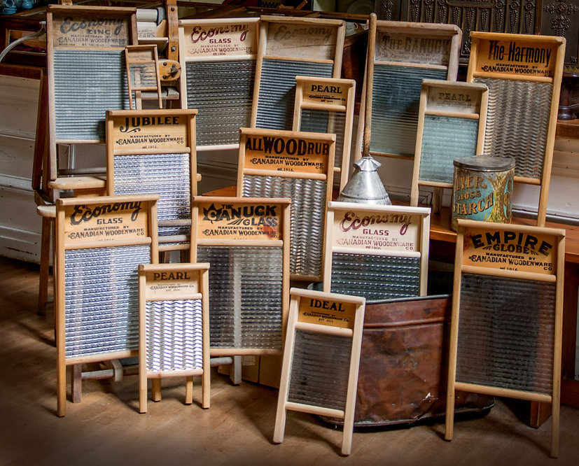 Washboard Showcase by Canadian Woodenware