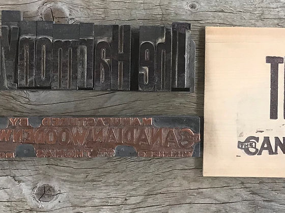 Canadian Woodenware Banner Image