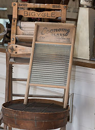 Washboards on Display