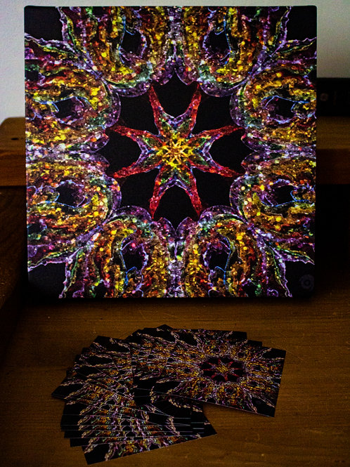 Kaleidoscope Glass