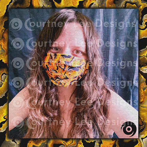 Yellow Face Mask