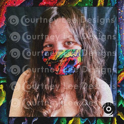Rainbow Alter Face Mask
