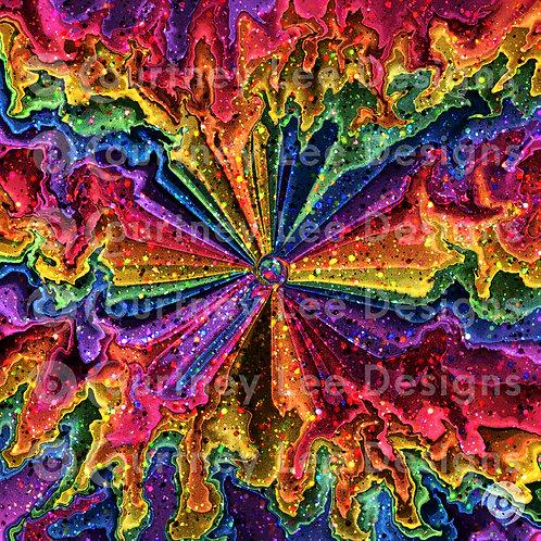 Flower Trip Digital Print