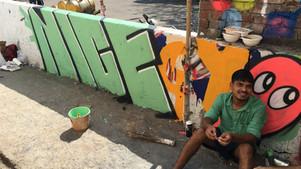 Sassoon Docks Art Project. Mumbai