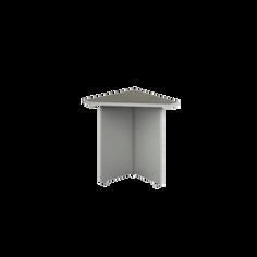Kenza   Mesa Esquinera Triangular Ejecutivo