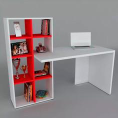 Escritorio con librero EM1   Línea Domésticos