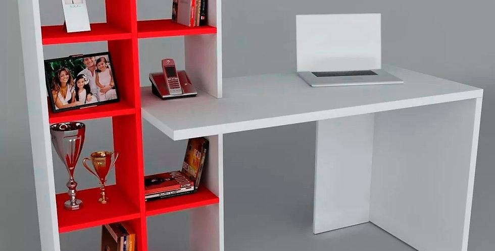 Escritorio con librero EM1 | Línea Domésticos