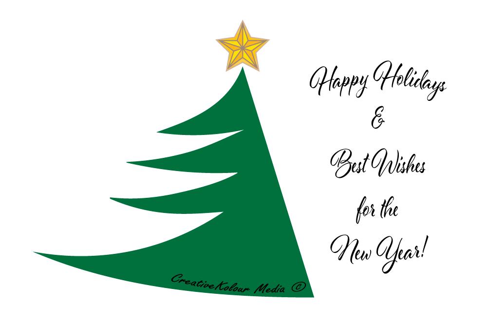 Christmas Tree Vector Graphic