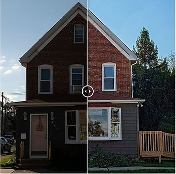 Befor & After Example of Real Estate Photgraphy Editing