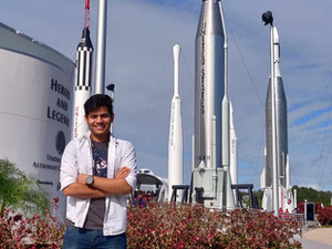 Deepanshu's Trip to the Kennedy Space Center