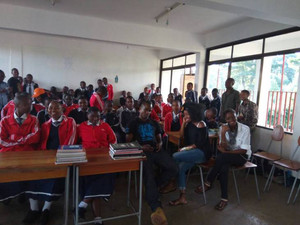 YES Alum Educates Tanzanians About Snake Safety