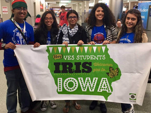 2017-2018 YES Students Arrive in Iowa